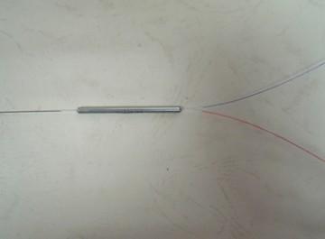 MMC850-50 - 850 nm, 1 x 2 MM coupler, (50/125 um),1m bare fiber