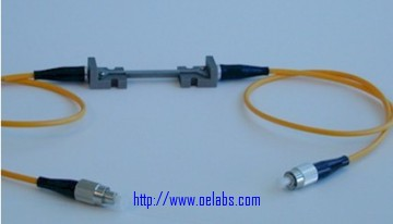 OESTS-100 - Mounted Surface Strain Fiber Bragg Grating Sensor