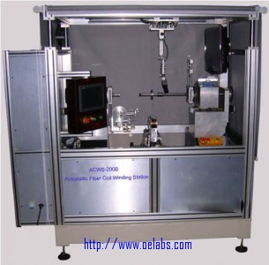 ACWS-200B - Automatic Fiber Coil Octupole Winding Station
