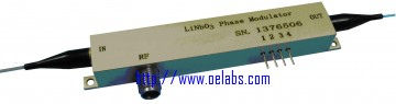 PMS15 - 1550nm Phase Modulator (Straight waveguide)